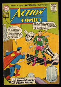 Action Comics #278 VG+ 4.5 Perry White! DC Superman