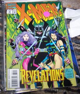 X Men  # 31  APRIL 1994, Marvel JUBILEE WOLVERINE  PSYLOCKE GAMBIT