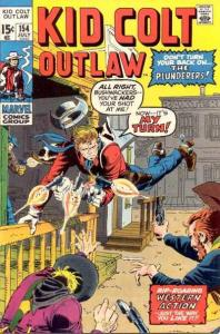 Kid Colt Outlaw #154, Fine- (Stock photo)