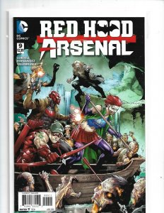 Red Hood Arsenal #9A Benes Variant NM  2016   nw13