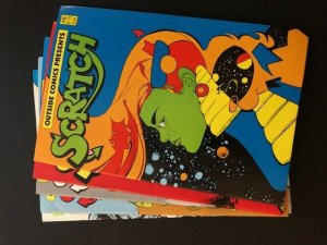 LOT of 5-Outside Comics -SCRATCH #2-#6 (A126)