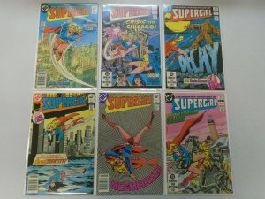 Supergirl lot 18 different from #1-23 8.0 VF (1982-84 2nd Series)