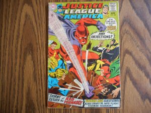 Justice League of America # 64  Key Origin & 1st app. of Silver Age Red Tornado