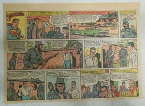 Superman Sunday Page #1114 by Wayne Boring from 2/19/1961 Size ~11 x 15 inches