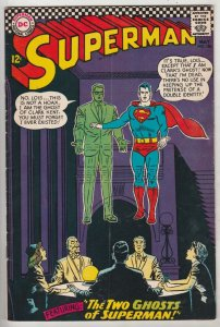 Superman #186 (May-66) FN/VF Mid-High-Grade Superman