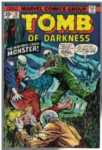 TOMB OF DARKNESS 10 FN  Sept. 1974