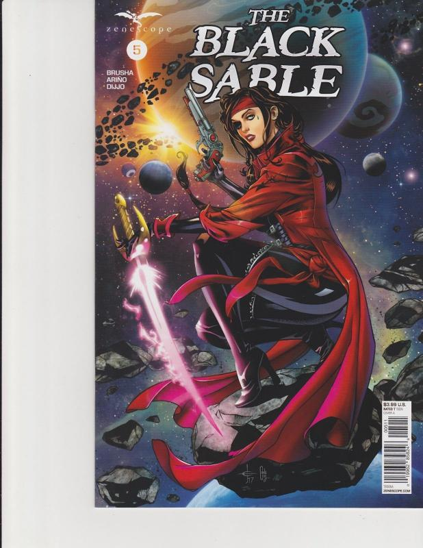 The Black Sable #5 Cover A Zenescope Comic GFT NM Johnson