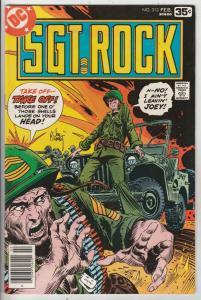 Sgt. Rock #313 (Feb-78) NM- High-Grade Sgt. Rock, Easy Co.