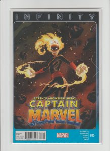 Captain Marvel #15 VF/NM 9.0 (2013, Marvel) High Grade, Infinity Tie-In!!