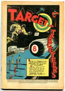 Target Comics Vol 2 #6 1941- Spacehawk - Wolverton- Golden Age reading copy