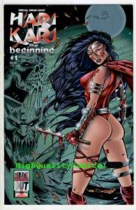 HARI KARI #1, NM+, Sword,Samurai, Femme Fatale,Beginning, 1996