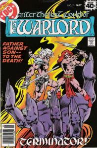 Warlord (DC) #21 FN; DC | save on shipping - details inside