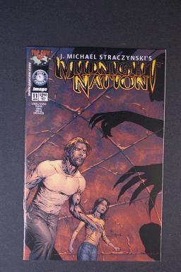 Midnight Nation #11 June 2002 1st Printing j. Michael Stracz