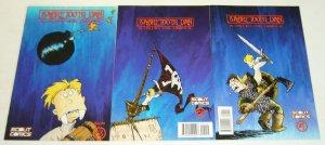 Sabretooth Dan: A Talent For Danger #1-3 complete series  scout comics set lot 2