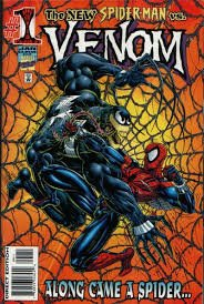 Venom: Along Came a Spider #1 (ungraded) stock photo