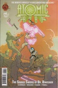 Atomic Robo and the Savage Sword of Dr. Dinosaur #4 VF/NM; Red 5 | save on shipp