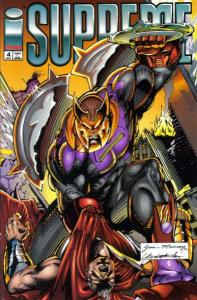 Supreme (1992 series) #4, NM (Stock photo)