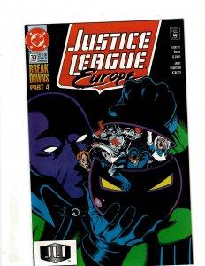 Justice League Europe #30 (1991) SR38