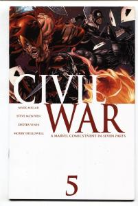 Civil War #5-2006-Marvel-Captain America-Spider-Man-Marvel Movie MCU