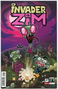 INVADER ZIM #1, 2 A, 2 B (1st prints), NM, Jhonen Vasquez, 2015, 3 issues in all