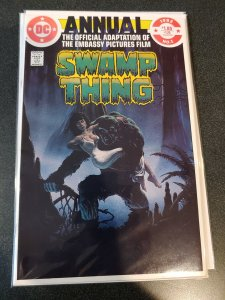 SWAMP THING ANNUAL #1 BRONZE AGE CLASSIC VF/NM