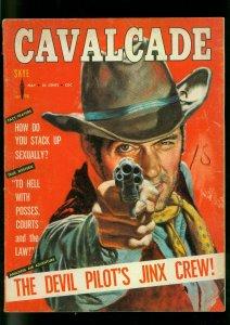 Cavalcade Pulp Magazine May 1958- Wolf Girl- Love Cult VG