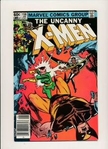 MARVEL 1982 THE UNCANNY X-MEN Vol 1 #158 Rogue Joins team FINE+ (PJ56)