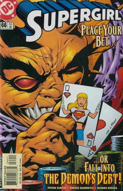 SUPERGIRL (1996 DC) #66 NM- A93348