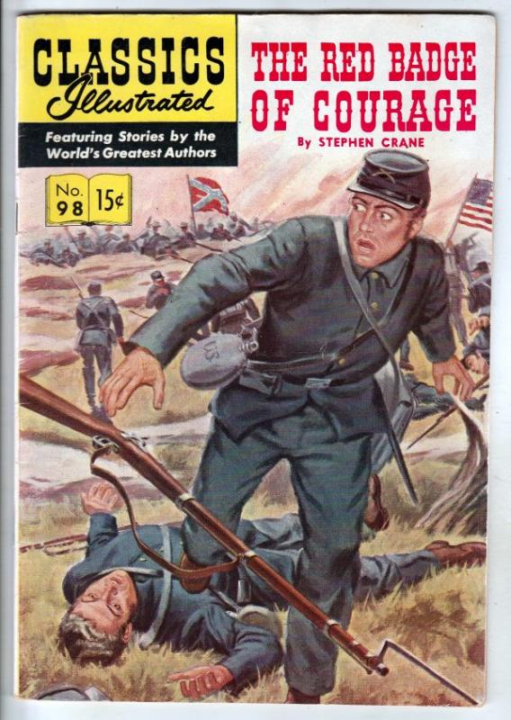 Classics Illustrated #98 (Aug-52) VF High-Grade