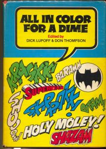 All In Color For a Dime 1970-1st edition hardback-Harlan Ellison-Superman-VG