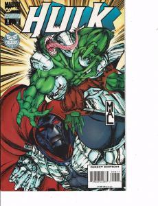 Lot Of 2 Comic Books Marvel Hulk #8 and Hulk 2099 AD #10  ON8