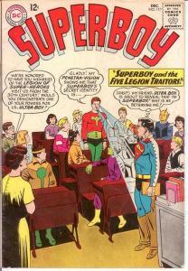 SUPERBOY 117 VG LEGION APPEARANCE   Dec. 1964 COMICS BOOK