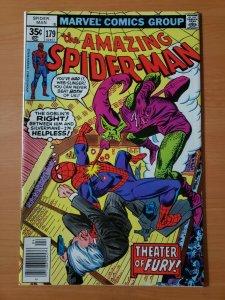 Amazing Spider-Man #179 Newsstand Edition ~ NEAR MINT NM ~ 1978 Marvel Comics