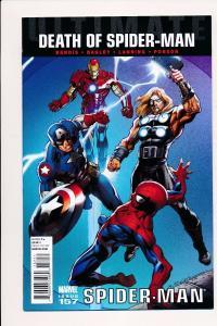 Ultimate Death of Spider-Man #157 Spider-Man ~ Marvel Comics 2011 ~ NM (HX536)
