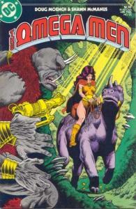 Omega Men (1982 series) #25, NM- (Stock photo)