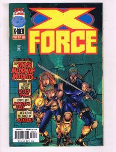 X-Force #64 VF Marvel Comics Comic Book Cable DE16