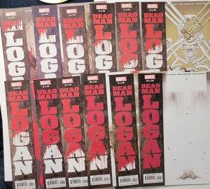 Dead Man Logan 12 Issue Set