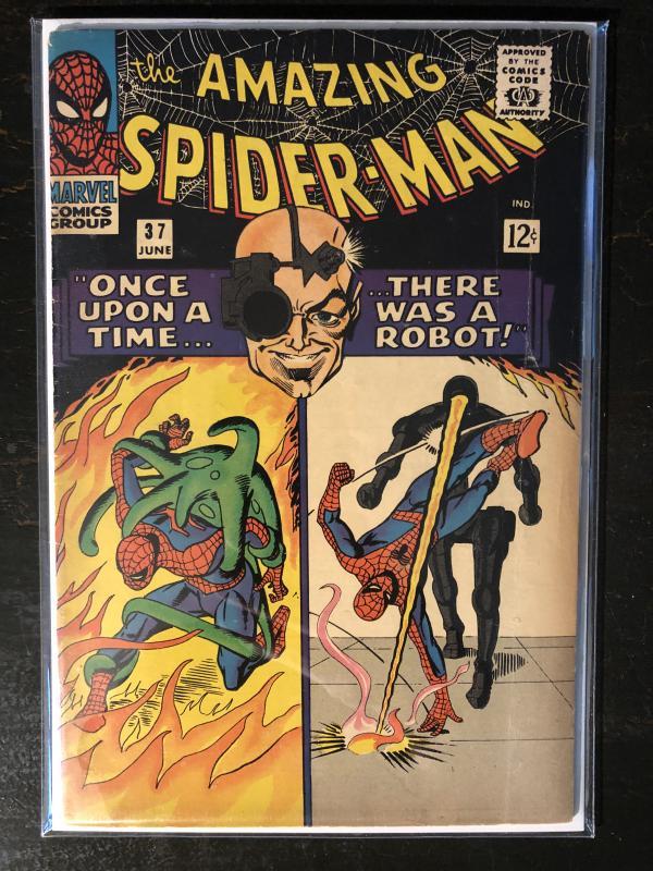 Amazing Spider-Man #37 - 1st App. Of Norman Osborn