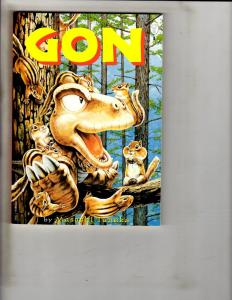 GON Tanaka Paradox Press Mini Comic Book Graphic Novel Masashi Tanaka CR31