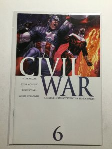 Civil War 6 Near Mint Nm Marvel