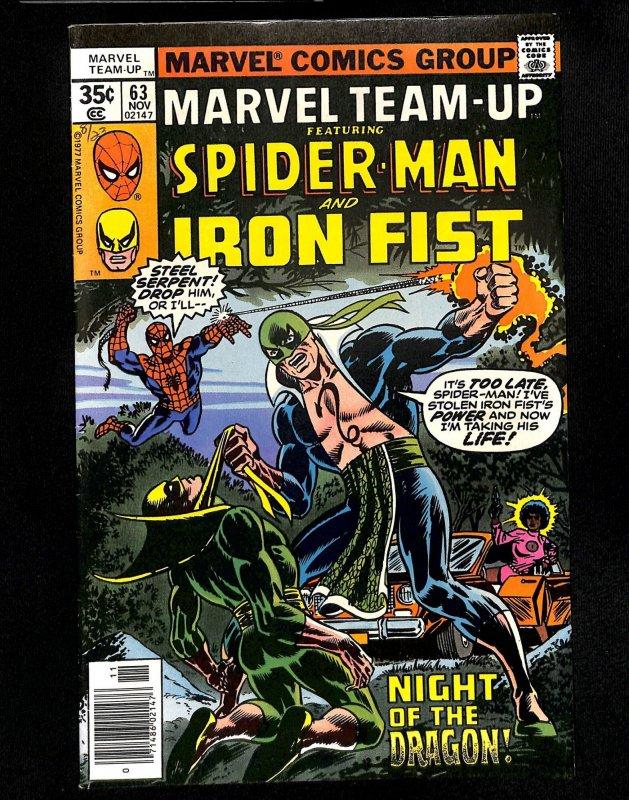 Marvel Team-up #63