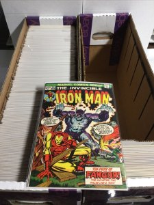 Iron Man 56-307 Annuals 3-15 Manual Near Complete 90% Near Mint