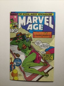 Marvel Age 76 Near Mint Nm Marvel