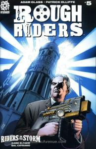 Rough Riders: Riders on the Storm #5 VF/NM; AfterShock   save on shipping - deta
