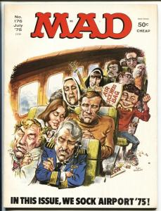 Mad-Magazine-#176-July 1975-Mort Drucker-Don Martin-HIGH GRADE