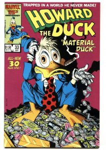 Howard The Duck #33 1986 last issue Marvel comic book NM-