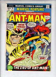 Marvel Feature presents Ant-Man, The Astonishing #10 (Jul-72) VF/NM High-Grad...