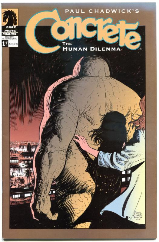 CONCRETE The HUMAN DILEMMA #1 2 3 4 5 6, NM, 6 issues, 2004, Paul Chadwick