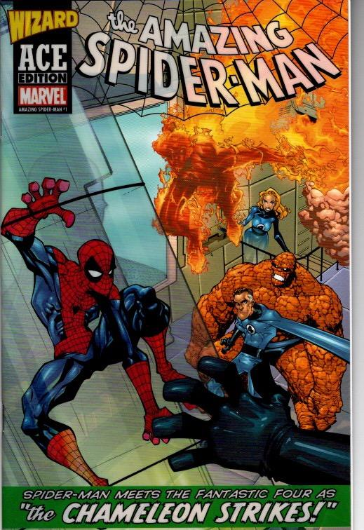 AMAZING SPIDER MAN #1 WIZARD ACE EDITION $10.00 NEAR MINT