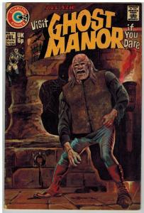 GHOST MANOR (1968-1971) 19 VG July 1974